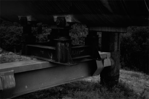 Frame from film